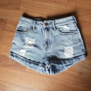 Bullhead Denim Co. High Rise Shorts